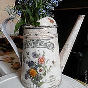 Для дома и интерьера ручной работы. Ярмарка Мастеров - ручная работа лейка  в стиле прованс состаренна. Handmade.