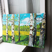 Картины и панно handmade. Livemaster - original item The painting