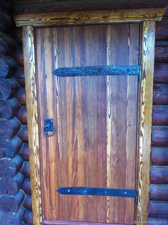 Двери из натурального дерева ручной работы