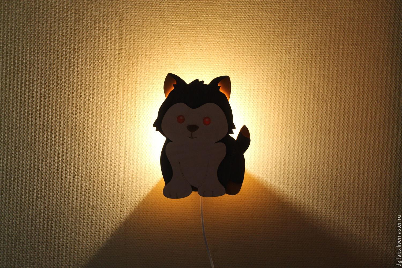 Lamp night light Puppy, Nightlights, Moscow,  Фото №1