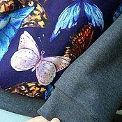 Одежда ручной работы. Ярмарка Мастеров - ручная работа Свитшот по акции, хлопковый трикотаж принт. Handmade.