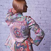 Одежда ручной работы. Ярмарка Мастеров - ручная работа Жакет Итальянская мозаика -войлок. Handmade.