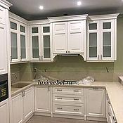Для дома и интерьера ручной работы. Ярмарка Мастеров - ручная работа Кухня белая из массива дуб. Handmade.