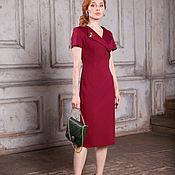 Одежда handmade. Livemaster - original item Dress up to 56p. FOUR SEASONS cherry!. Handmade.