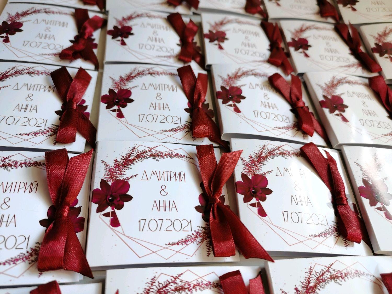 """Бонбоньерки """"Спасибо, что Вы с нами!"""", Бонбоньерки, Нижний Новгород,  Фото №1"""