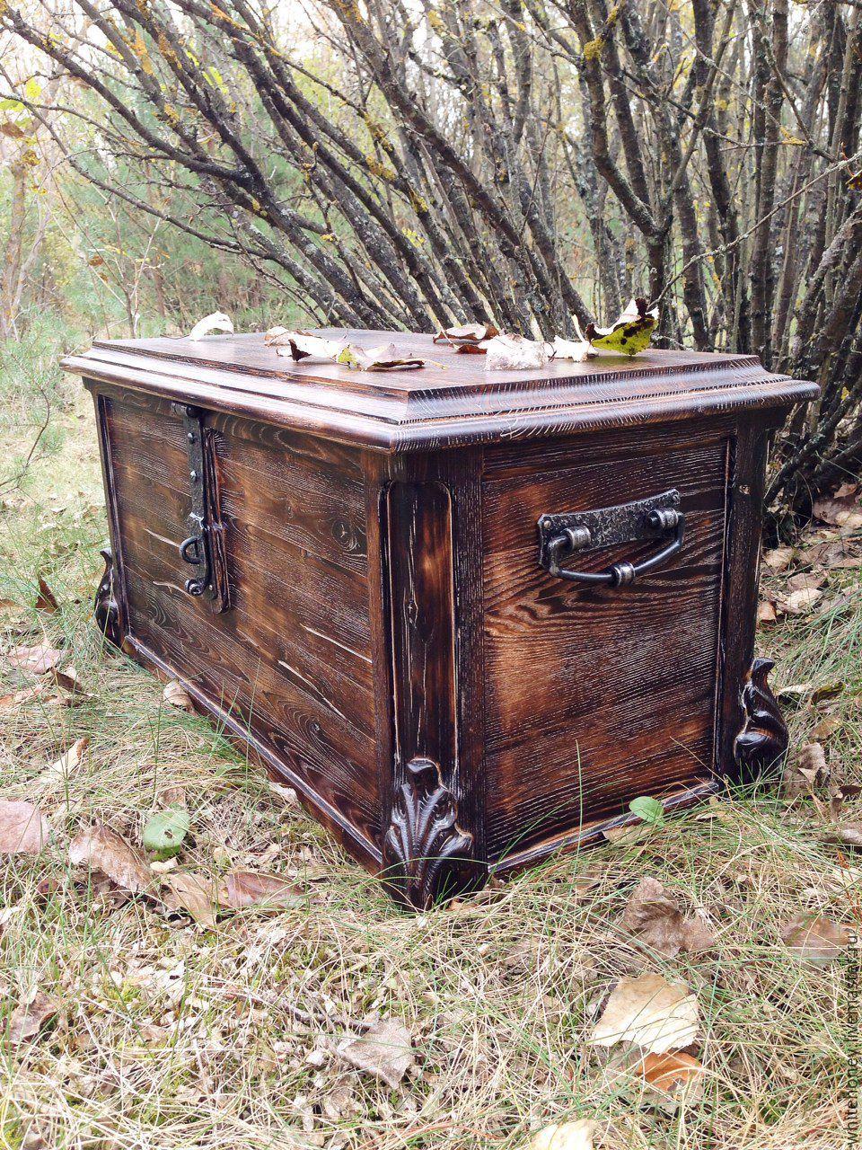 Chest made of ash, Box, Vitebsk,  Фото №1