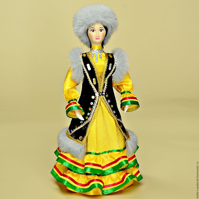 Башкирская кукла в национальном костюме – купить в ...