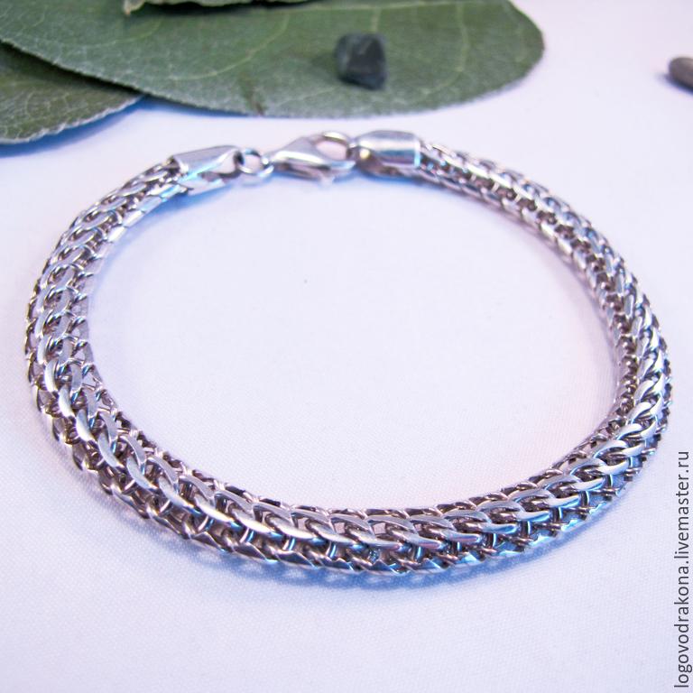 Плетения для браслетов из серебра фото