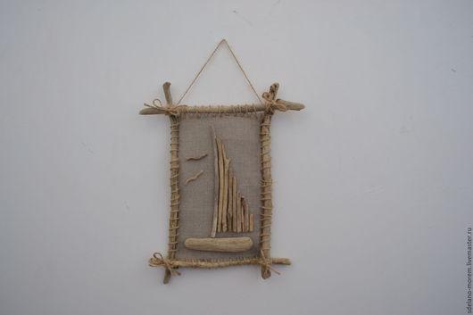 Кораблик из веток