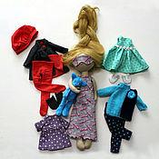 Куклы и игрушки ручной работы. Ярмарка Мастеров - ручная работа девочка Мия. Handmade.