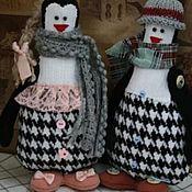 пингвины Стеша и Яша