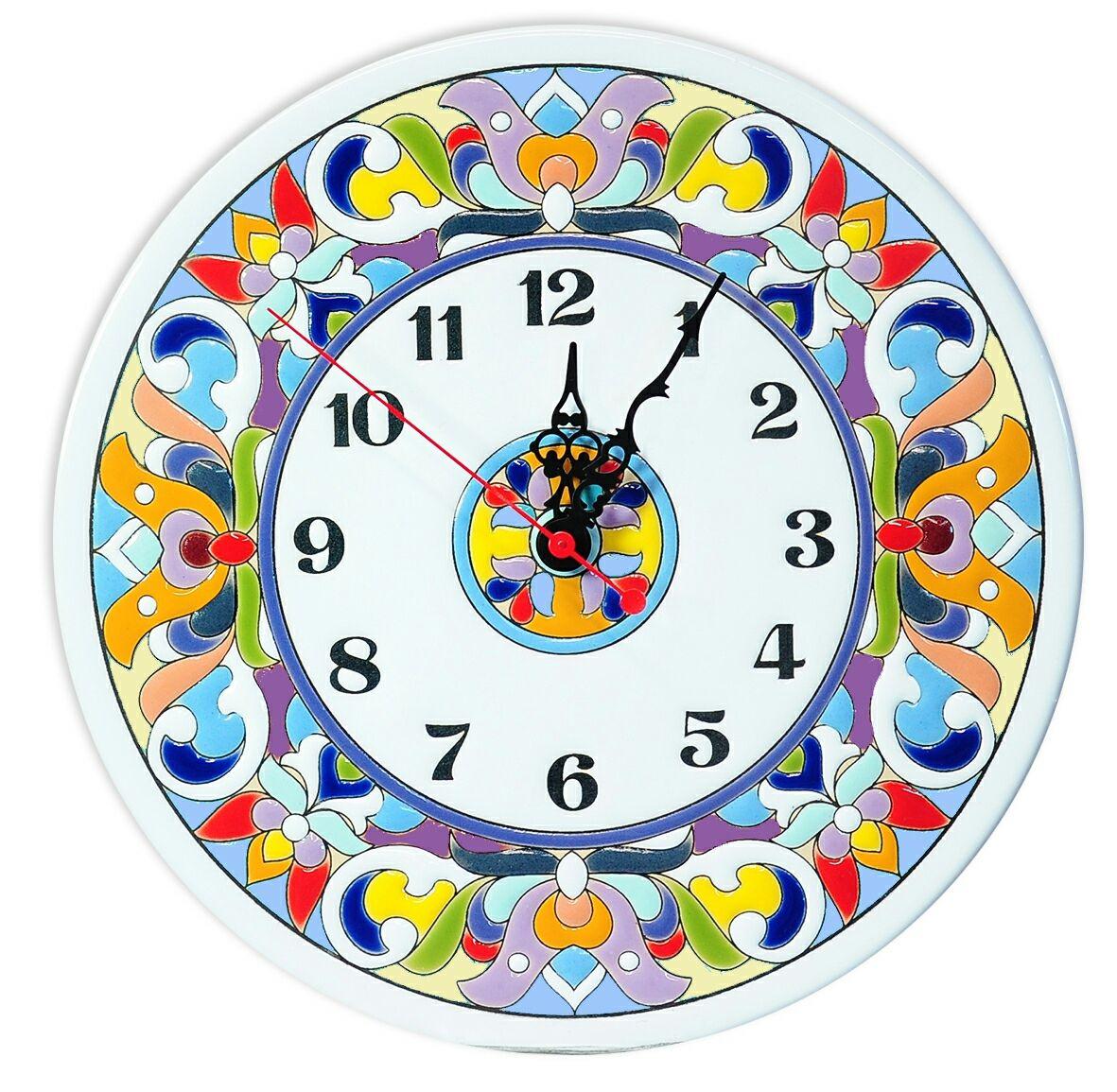 clocks, decorative,ceramic,round, Watch, Moscow,  Фото №1