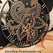 """Для дома и интерьера ручной работы. Ярмарка Мастеров - ручная работа часы""""цветочные"""". Handmade."""