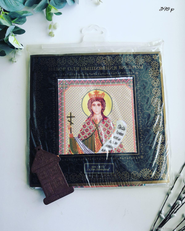 Набор для вышивания Nova Sloboda Св. Вмч. Екатерина, Схемы для вышивки, Тула,  Фото №1