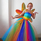 Одежда handmade. Livemaster - original item Iridescent fairy. Animator-actor  suit. Handmade.