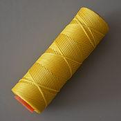 Нитки ручной работы. Ярмарка Мастеров - ручная работа Нитки Dafna вощеные 1мм 670 желтые. Handmade.