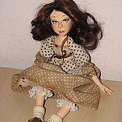 """Куклы и игрушки ручной работы. Ярмарка Мастеров - ручная работа авторская кукла """"Любочка"""". Handmade."""