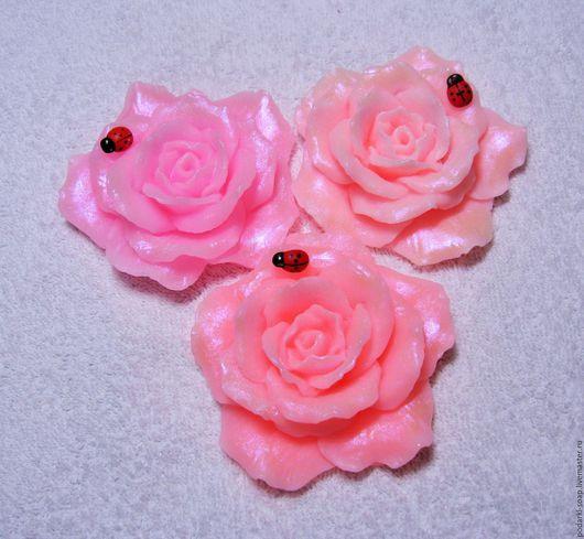 """Мыло ручной работы. Ярмарка Мастеров - ручная работа. Купить Мыло """"Королевская роза"""". Handmade. Розовый, нежный"""