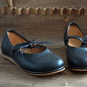 Обувь ручной работы. Ярмарка Мастеров - ручная работа Обувь для отдыха (черные). Handmade.