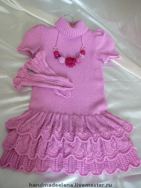 Одежда для девочек, ручной работы. Ярмарка Мастеров - ручная работа. Купить платье Я УЖЕ БОЛЬШАЯ. Handmade. Нарядное платье