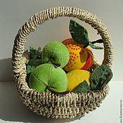 Куклы и игрушки ручной работы. Ярмарка Мастеров - ручная работа Текстильные фрукты.. Handmade.