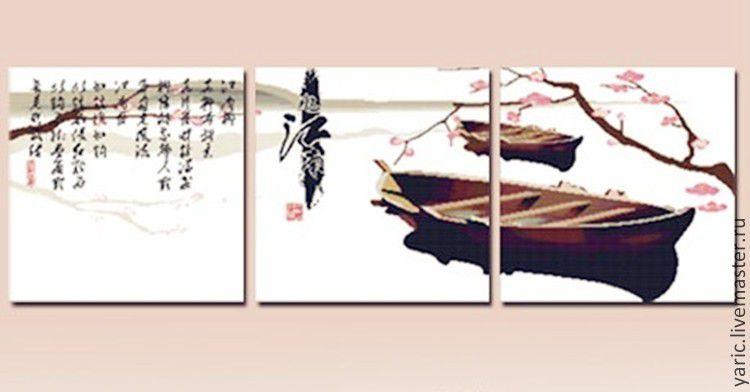 Китайские триптихи для вышивки