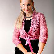 """Одежда ручной работы. Ярмарка Мастеров - ручная работа Болеро """"Розовая Орхидея"""". Handmade."""