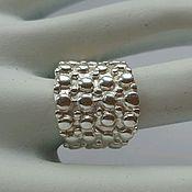 Украшения handmade. Livemaster - original item Ring, 925 sterling silver, size 17.. Handmade.