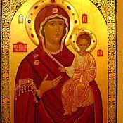 Картины и панно handmade. Livemaster - original item Image PR.. The Virgin Hodegetria Of Smolensk. Handmade.