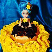 Для дома и интерьера ручной работы. Ярмарка Мастеров - ручная работа Кукла - шкатулка. Handmade.