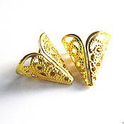 Материалы для творчества handmade. Livemaster - original item End cone cap beads. Handmade.