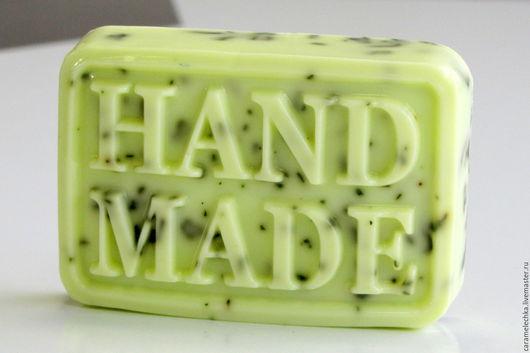 Мыло ручной работы. Ярмарка Мастеров - ручная работа. Купить Мыло мятное. Handmade. Мыло ручной работы, подарок девушке