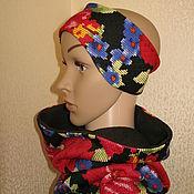 Аксессуары ручной работы. Ярмарка Мастеров - ручная работа повязка на голову. Handmade.