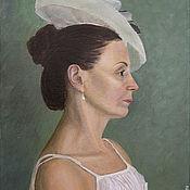 Картины и панно ручной работы. Ярмарка Мастеров - ручная работа Портрет дамы. Handmade.
