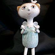 Колокольчики ручной работы. Ярмарка Мастеров - ручная работа Кукла колокольчик Ангел. Handmade.