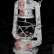 Для дома и интерьера ручной работы. Ярмарка Мастеров - ручная работа Лампа керосиновая. Handmade.