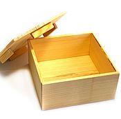 Для дома и интерьера ручной работы. Ярмарка Мастеров - ручная работа Ящик деревянный. Handmade.