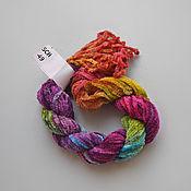 Материалы для творчества handmade. Livemaster - original item Silk chenille (no. №49). Handmade.