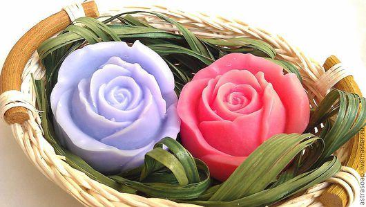 """Подарочные наборы косметики ручной работы. Ярмарка Мастеров - ручная работа. Купить Набор мыла подарочный """"Нежные Розы"""". Handmade."""