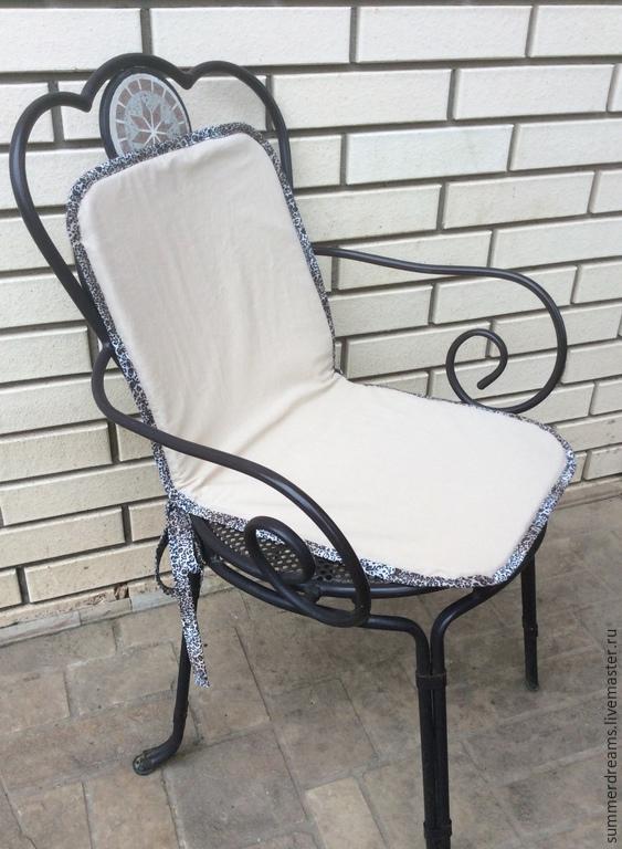 Чехлы на стулья с круглой спинкой своими руками