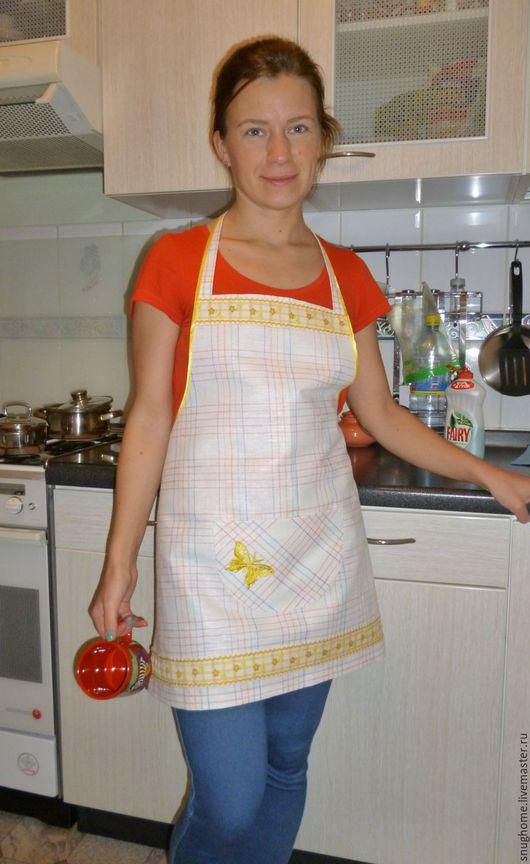 Кухня ручной работы. Ярмарка Мастеров - ручная работа. Купить Передник для кухни. Handmade. Передник для кухни, на 8 марта подарок
