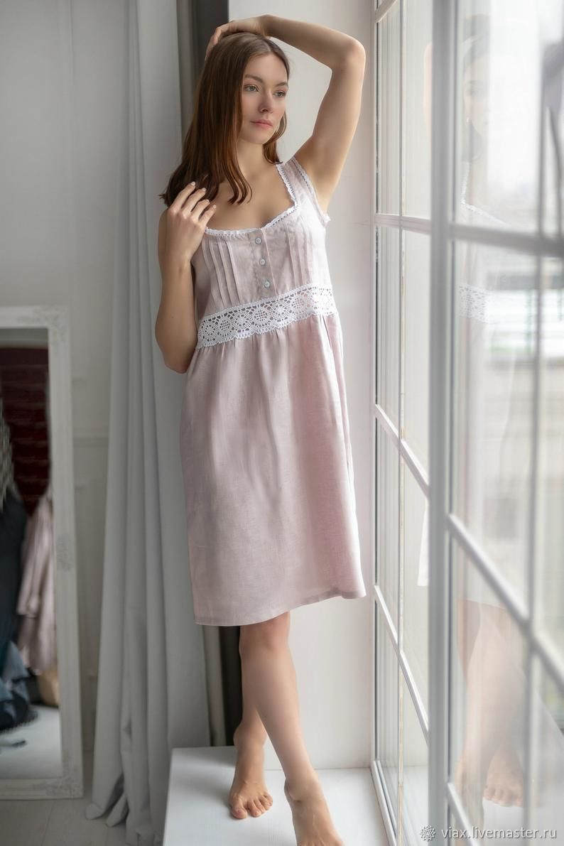 Combinations: nightgown made of linen ' Alice', Combination, Rostov-on-Don,  Фото №1