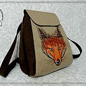 Сумки и аксессуары handmade. Livemaster - original item Backpack SP the Mistress of the forest. Handmade.