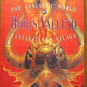 """Материалы для творчества ручной работы. Ярмарка Мастеров - ручная работа книга """"The fantastic world of Boris Vallejo"""", Борис Валледжо, 1990. Handmade."""