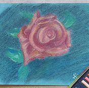 """Картины и панно ручной работы. Ярмарка Мастеров - ручная работа """"Роза"""".. Handmade."""