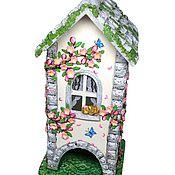 Для дома и интерьера handmade. Livemaster - original item Teahouse blossom 2, tea house Sakura. Handmade.