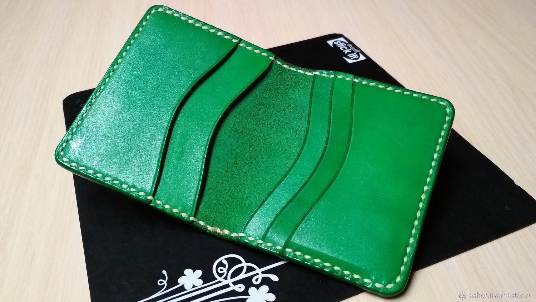 Leather cardholders, wallet, business card holder, monogram ...