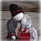 """Куклы и игрушки ручной работы. Ярмарка Мастеров - ручная работа Авторская кукла """"Вместе"""". Handmade."""