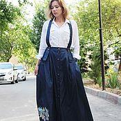 Одежда handmade. Livemaster - original item Denim skirt