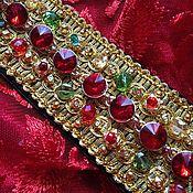"""Пояса ручной работы. Ярмарка Мастеров - ручная работа Пояс""""Византийская принцесса""""в стиле DG. Handmade."""